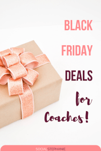 Black Friday Deals for Coaches and entrepreneurs 2018