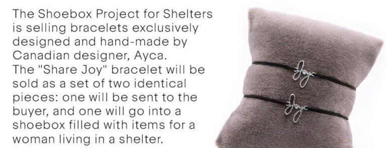 Social Stepmom Supports The Joy Bracelet!