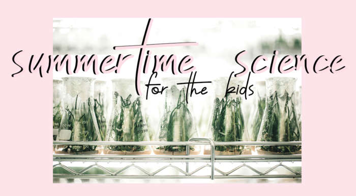 summertime science for the kids