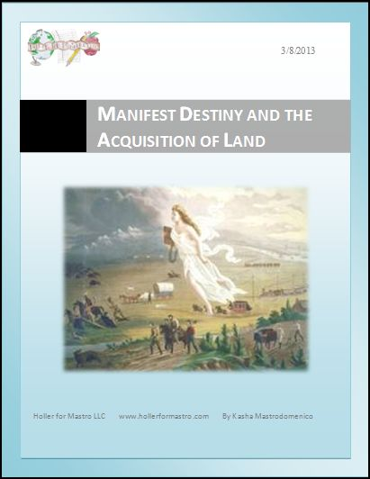 Manifest Destiny Differentiated Instruction Lesson Plan
