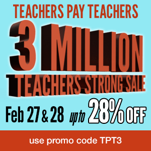 TeachersPayTeachers Sale!
