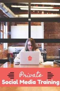 social media private training
