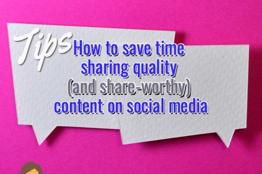 social media content time saving tips