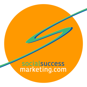 social success marketing business logo