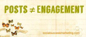 Social Media Explained | Posts aren't engagement
