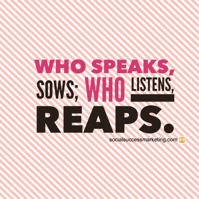 Quote on Listening