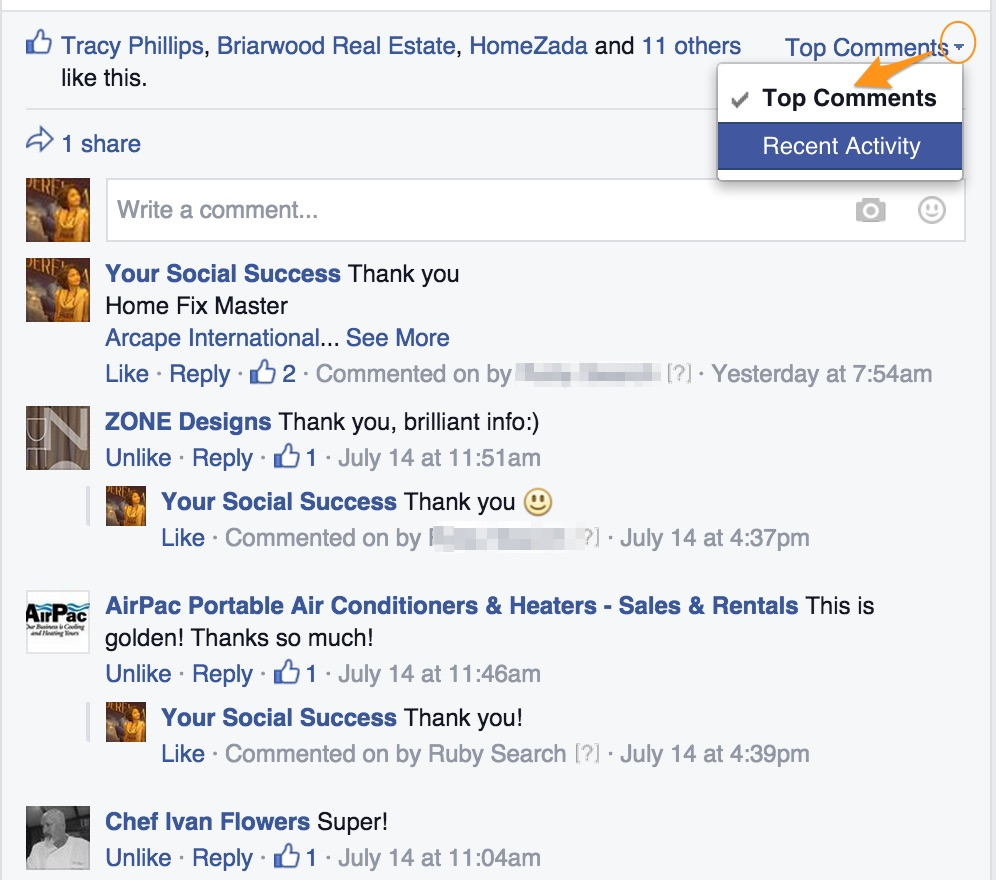 Facebook Post: How To Track Facebook Conversations