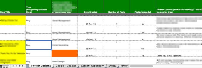 Social Media Content Writers Block   Have a calendar