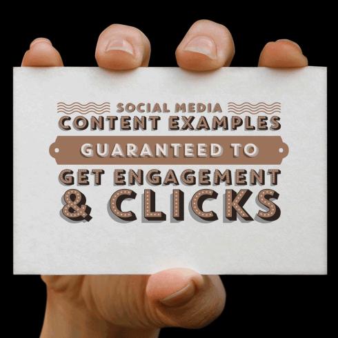Social Media Content Samples