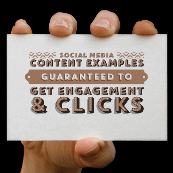 12 Social media posts examples from companies that are guaranteed to get engagement and clicks.