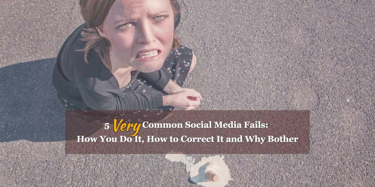 common social media fails