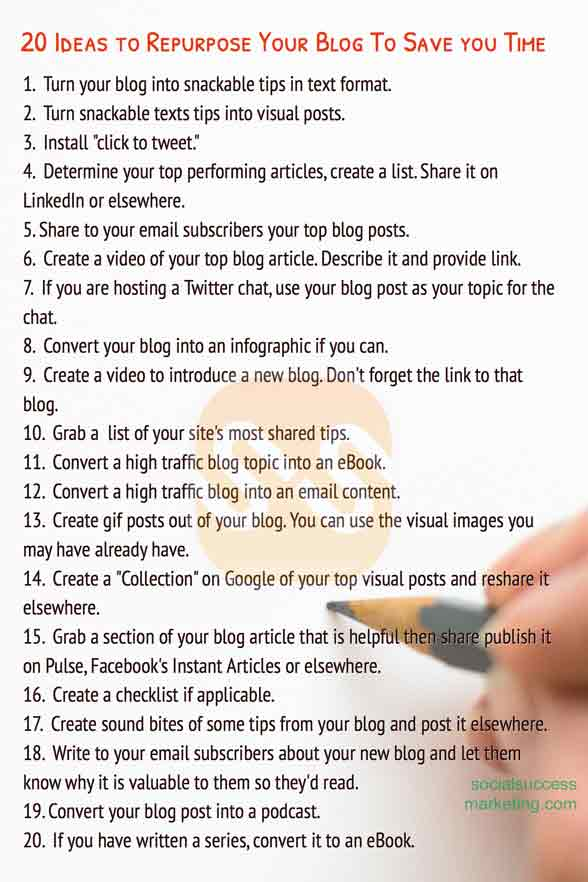 Running out of ideas for your social media posts? READ THIS.