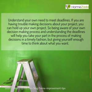 home improvement tips social media