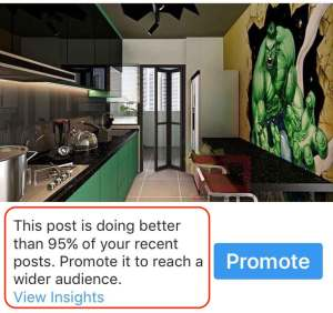 social media post efficiency