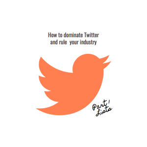 how to dominate twitter