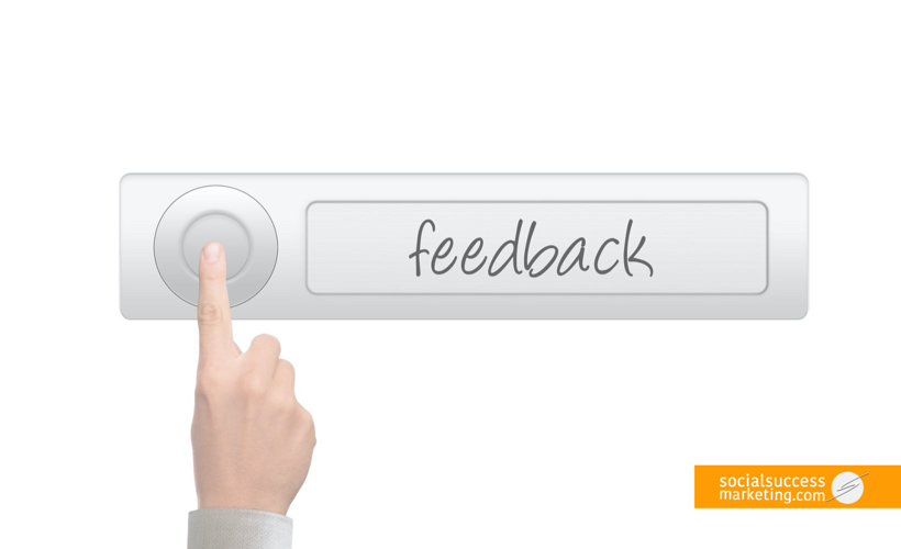 customer feedback and review