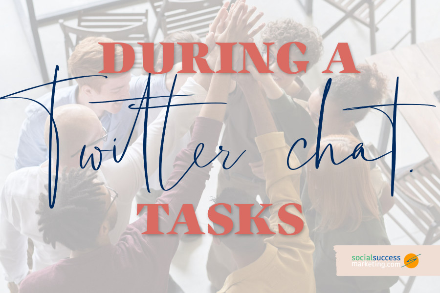 what to do during Twitter chat