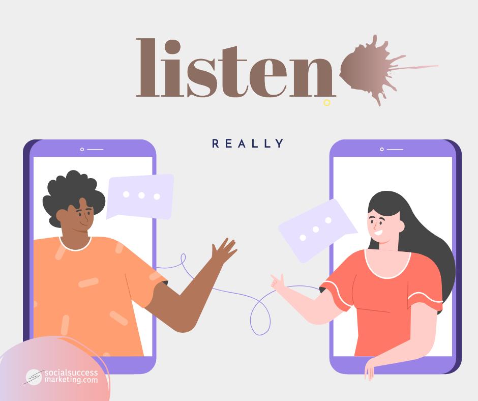 listen in social media
