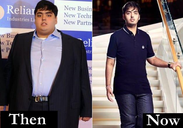anant ambani weight loss