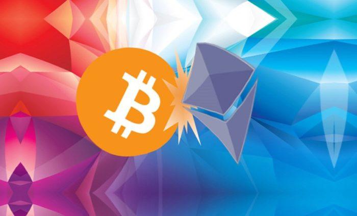 bitcoin vs ethereum porovnanie