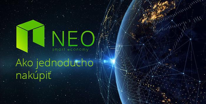 ako nakúpiť NEO - 3 jednoduché kroky