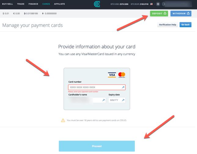 ako nakúpiť bitcoin kartou na cex.io