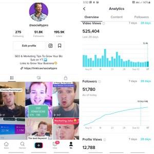 social media marketing example