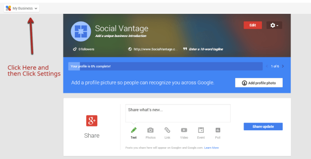 google step1