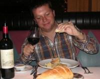 Conrad at a Restaurant