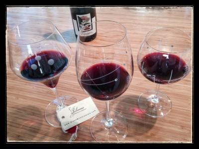 Julianna Red Wine Glasses Pinot Noir Crimson Test