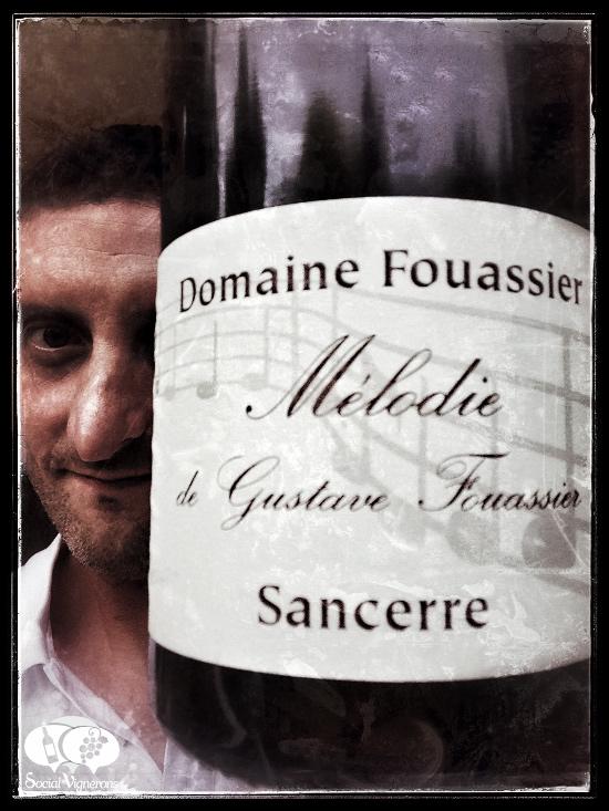 2007 Domaine Fouassier Sancerre Melodie - Wine is a Journey wine bottle label Julien Miquel blogger influencer small