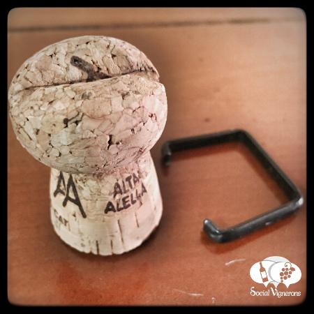 2014 Alta Alella Bruant Organic Cava Brut Nature Sparkling wine bottle cork Catalunya