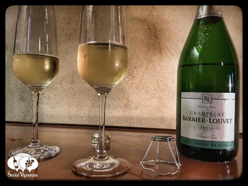 Champagne Barbier-Louvet Premier Cru Brut Blanc de Blancs, France