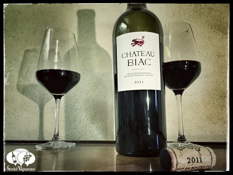 2011 Chateau Biac, Cadillac Cotes de Bordeaux, France