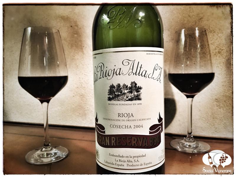 2004 La Rioja Alta Gran Reserva 890, Spain