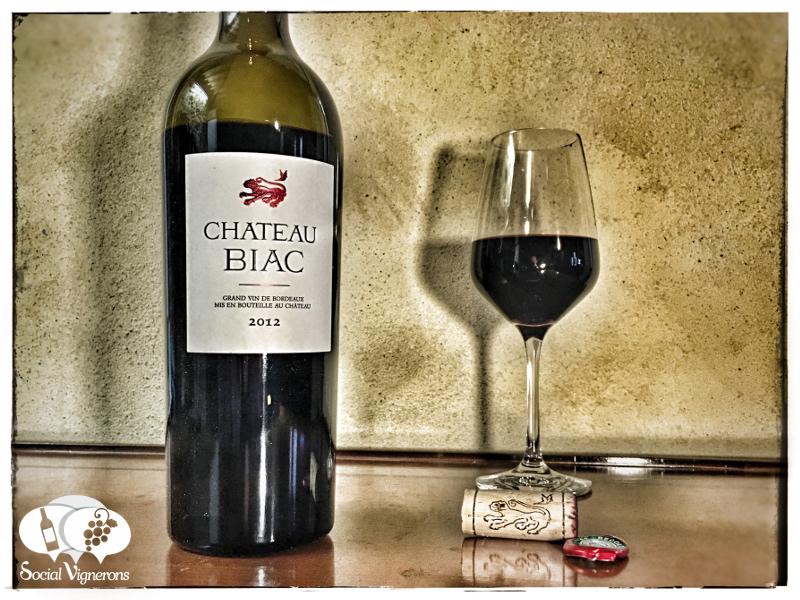 2012 Chateau Biac, Cadillac Cotes de Bordeaux, France