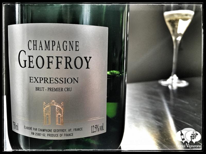 NV Champagne René Geoffroy Cuvée Expression Brut Premier Cru, France