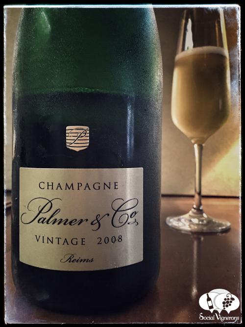 Champagne Palmer & Co 2008 Vintage Cuvee front label sparkling wine france social vignerons