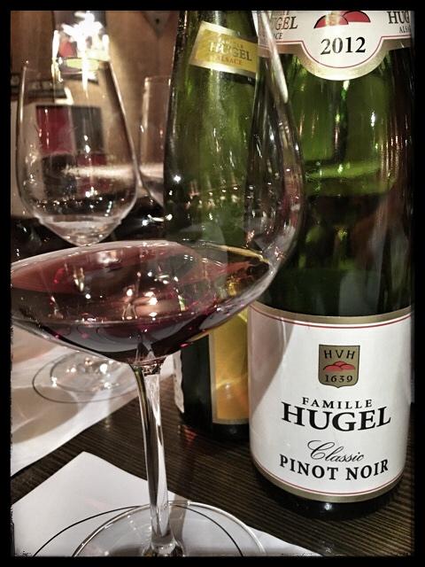 2012 Famille Hugel Classic Pinot Noir, Alsace