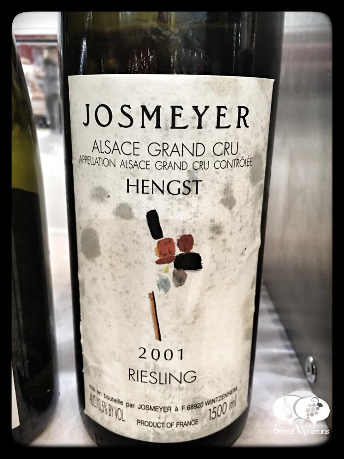 2001 Josmeyer Riesling Hengst Grand Cru Magnum, Alsace
