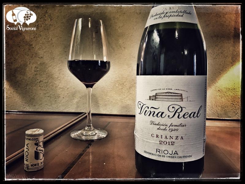 2012 CVNE Viña Real Crianza, Rioja, Spain