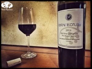 2014 Estate Crush Colarossi Family Vineyard Old Vine Wine Blogger Reserve Zinfandel, Lodi wine