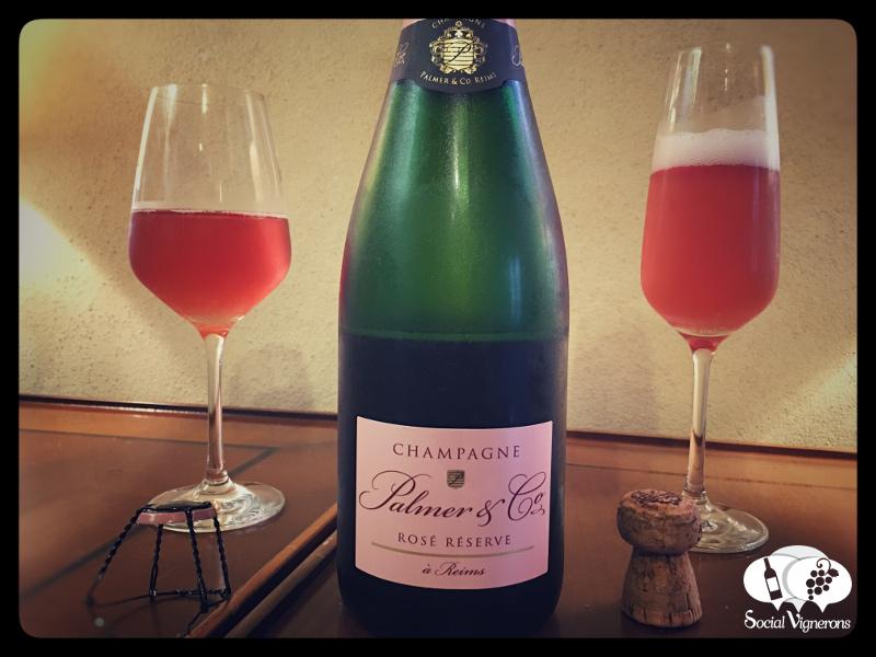 Palmer & Co Rosé Réserve Brut, Champagne