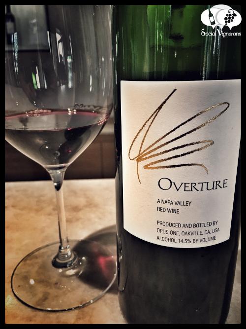 Opus One Winery wine Bordeaux blend 2010 Overture blend vintage napa valley bottle glass vertical