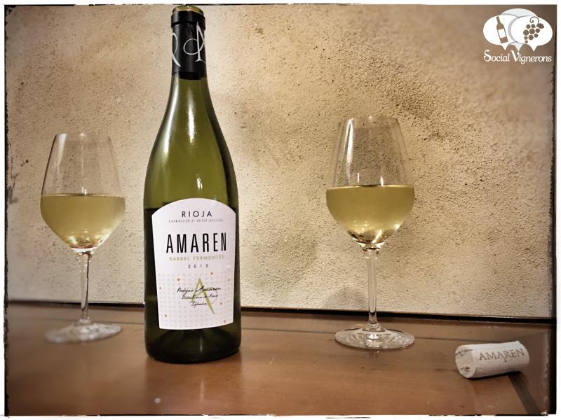 2015 Amaren Blanco Barrel-Fermented White, Rioja