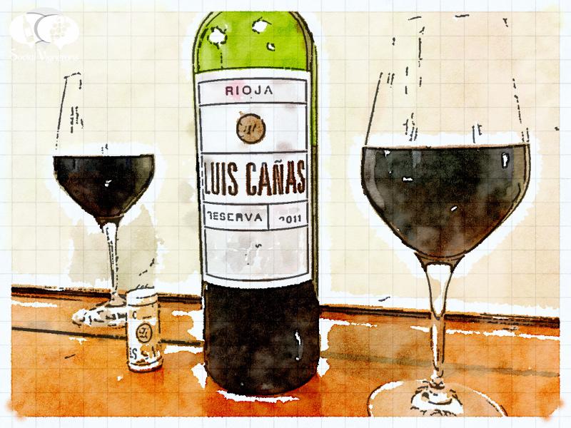 2011 Luis Cañas Reserva, Rioja