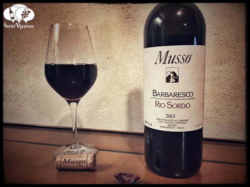 2013 Musso Rio Sordo Barbaresco, Piedmont, Italy