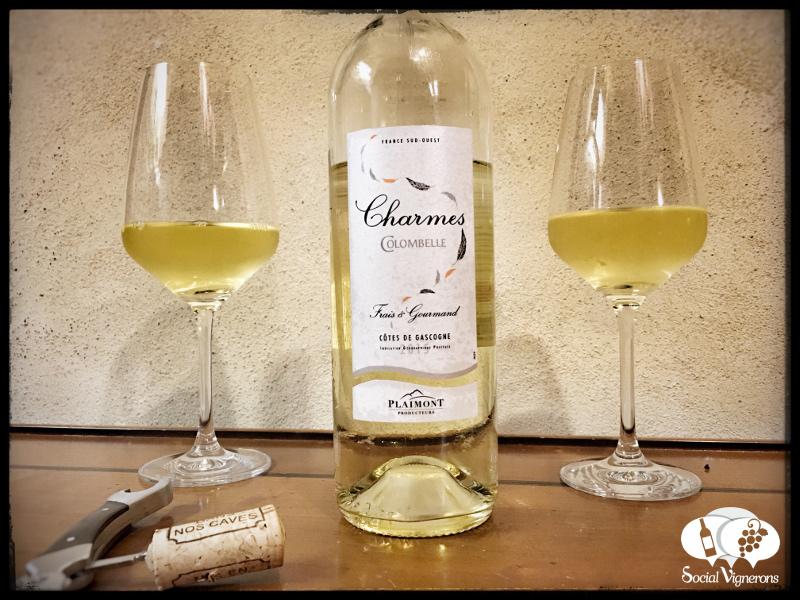 2015 Plaimont Les Charmes Gros Manseng Off-Dry White, France