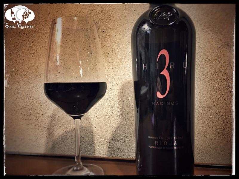 2009 Luis Cañas Hiru 3 Racimos, Rioja