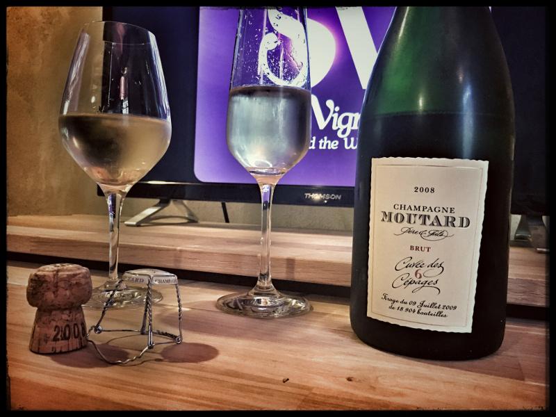 2008 Champagne Moutard Père & Fils Cuvée des 6 Cépages : a wine to experience !
